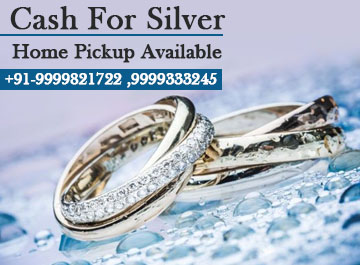 Sell Silver For Cash In Noida